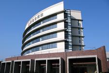 6月1日にオープンした済生会飯塚嘉穂病院の外観