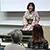 イメージ:あけぼの福岡の集いで六松亭小蝶さんが医療落語