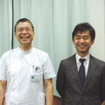 熊本赤十字病院 宮田 昭 副院長/曽篠 恭裕 救援課長