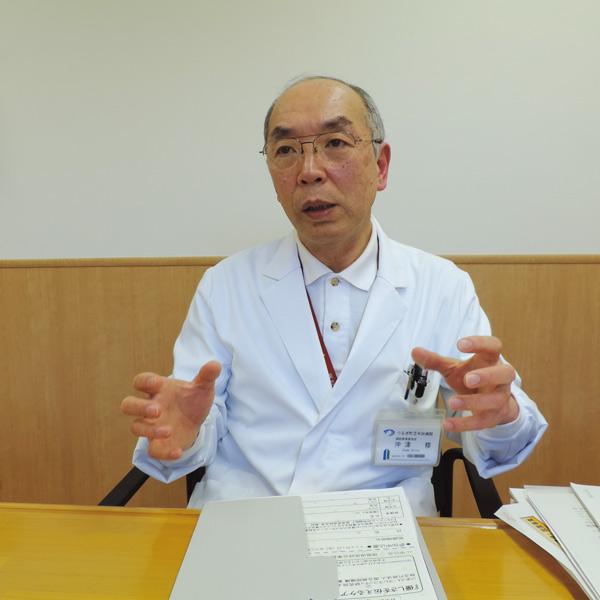 つるぎ町立半田病院 沖津 修 病院事業管理者
