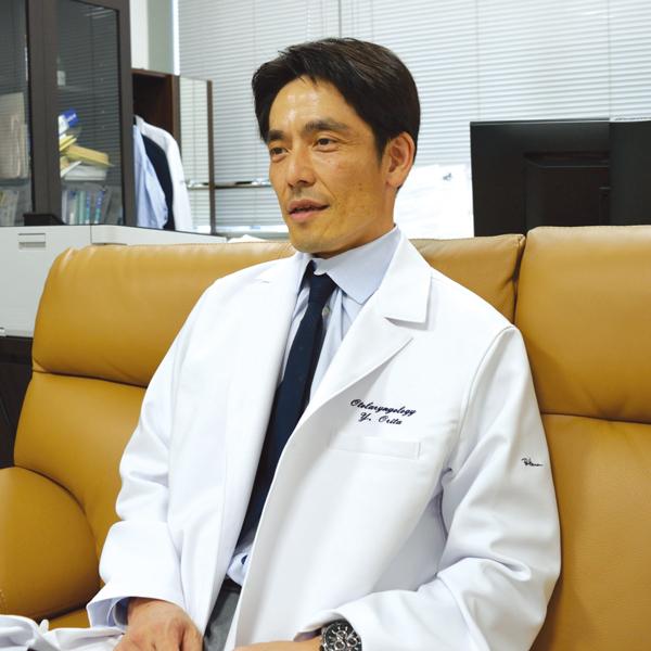 熊本大学大学院 生命科学研究部 耳鼻咽喉科・頭頸部外科学分野 折田 頼尚 教授
