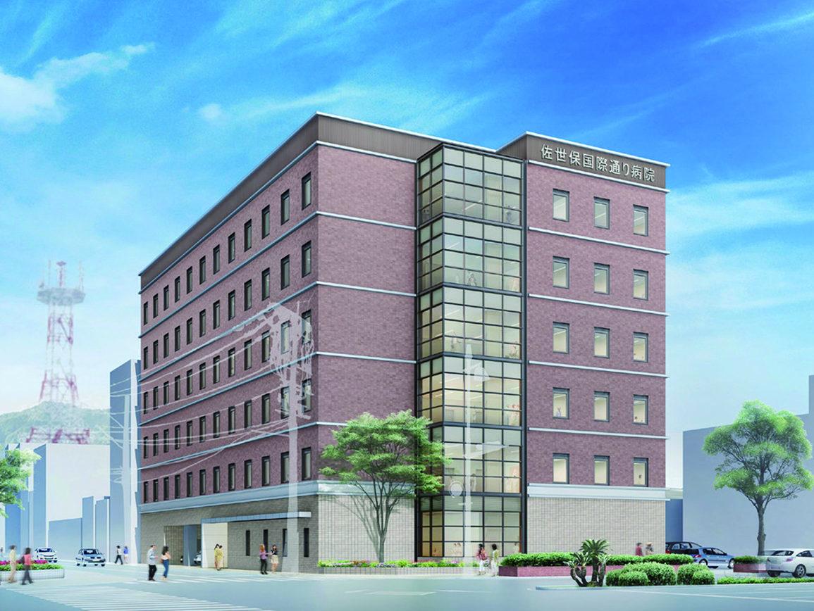 地域包括ケア病棟を備えた新病院を建設中
