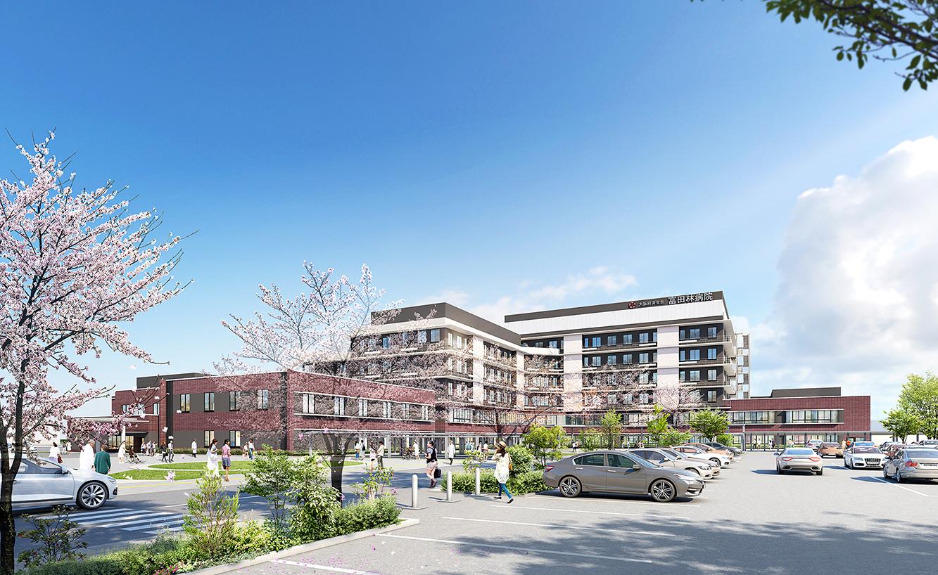 地域に開かれた病院に。2020年秋、新病院が完成