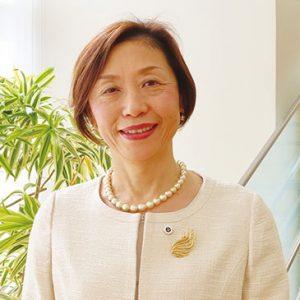 福岡県看護協会 会長  大和  日美子