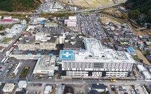 高度急性期、救急を強化 新名称で5月開院